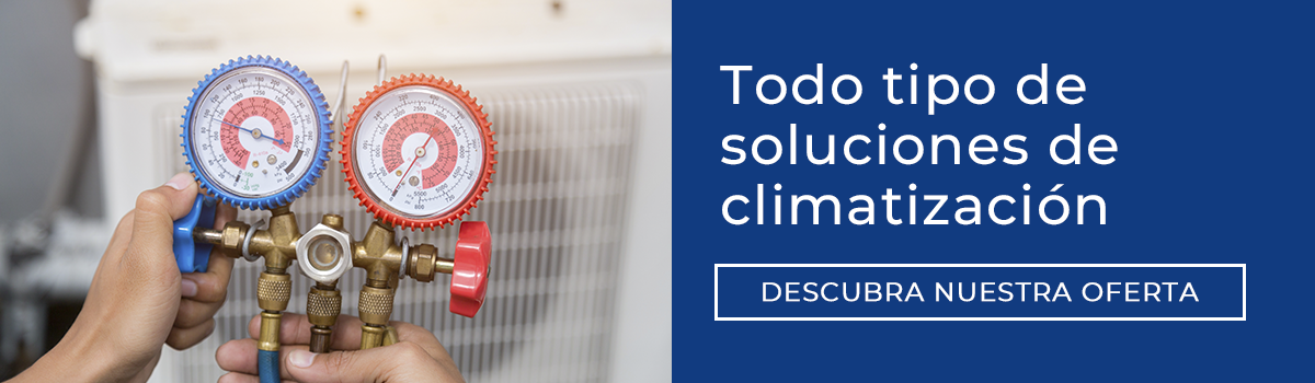Todo tipo de soluciones de climatización